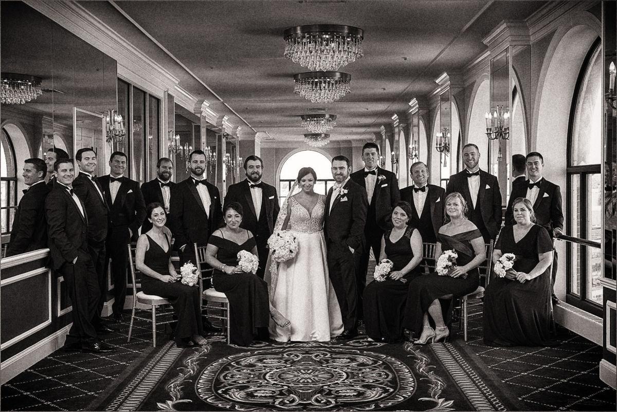 Providence Biltmore Graduate Hotel Wedding Photography CS121