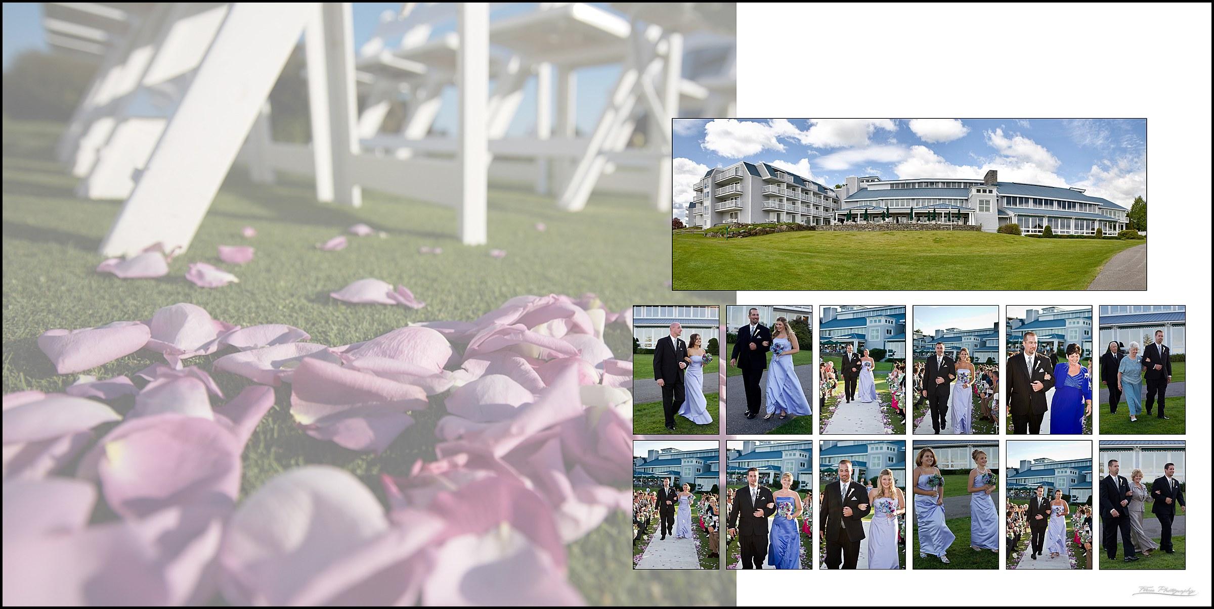 Samoset Resort Wedding Album MA112