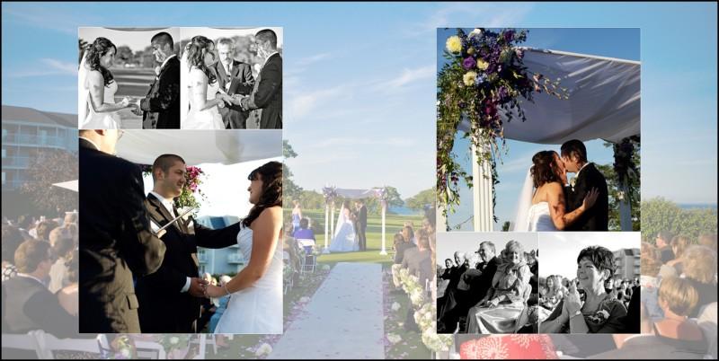 Samoset Resort Wedding Album MA117