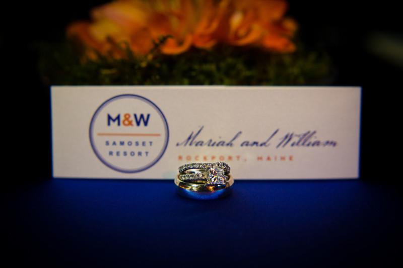 wedding rings at samoset resort