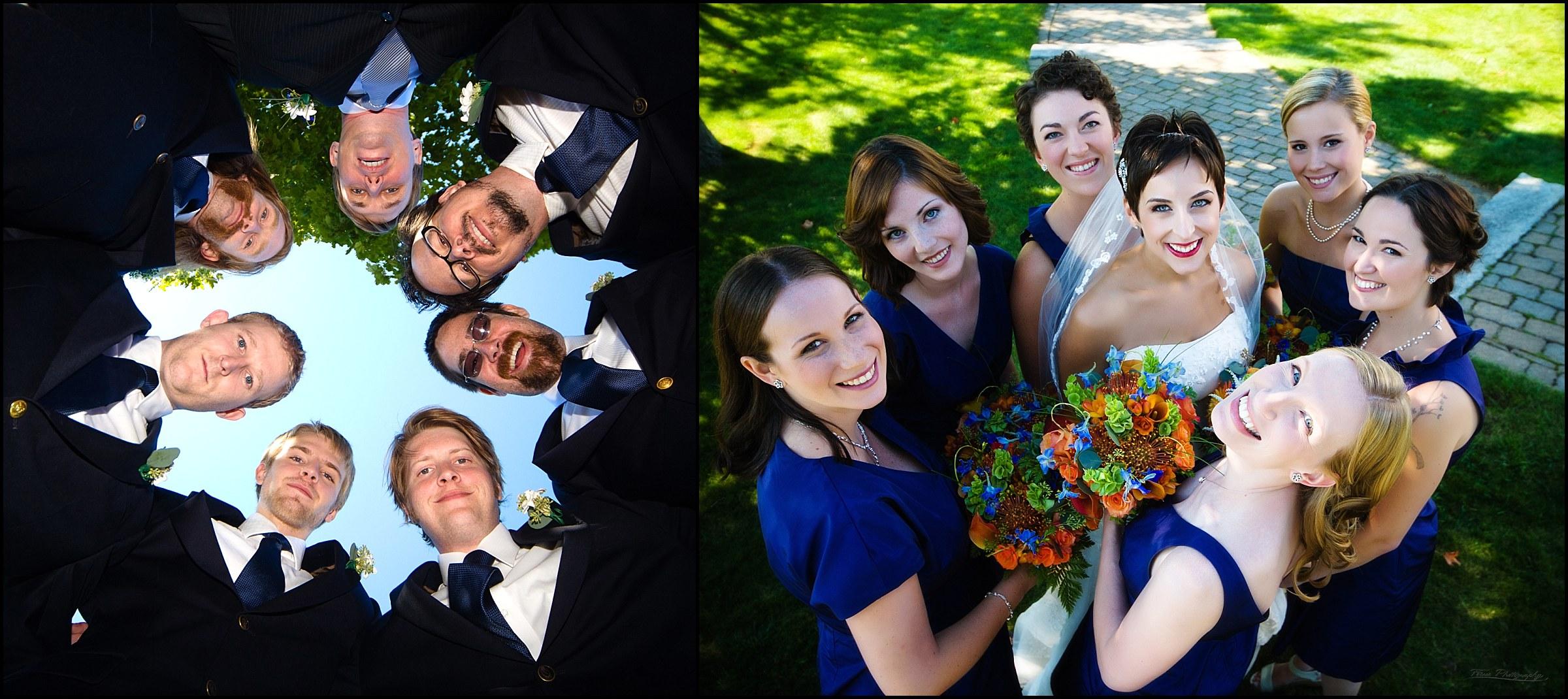 bridal parties at samoset wedding