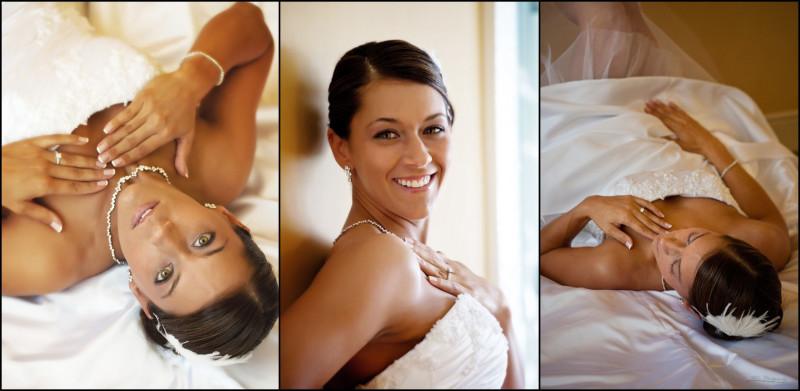 bride's portraits at samoet