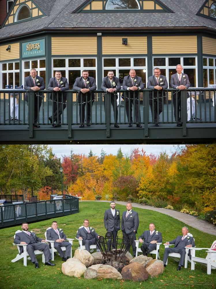 groomsmen at Sunday River Jordan Hotel 104