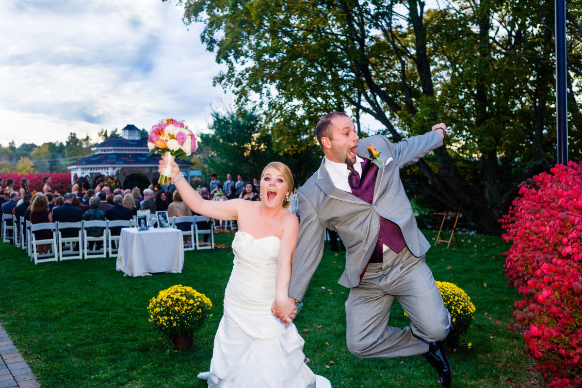 The best wedding exit ever!