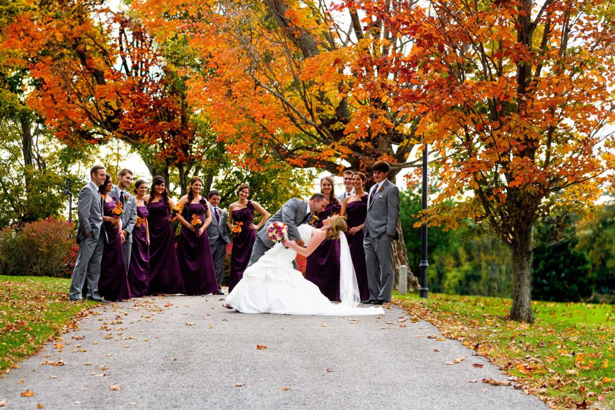 Love that fall foliage!
