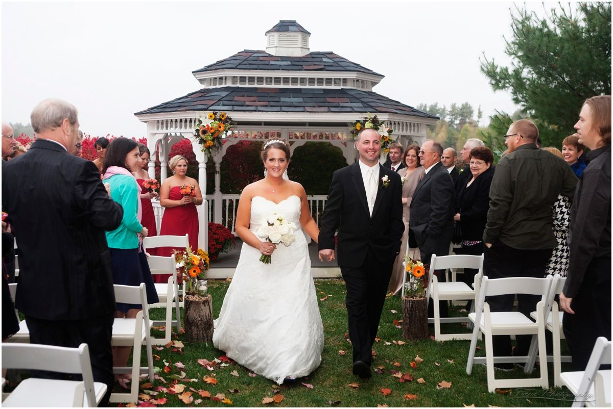 Wedding Photography at the Red Barn in South Berwick, ME