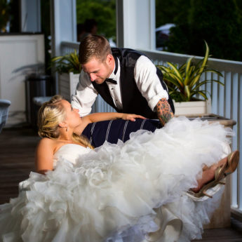relaxed wedding day
