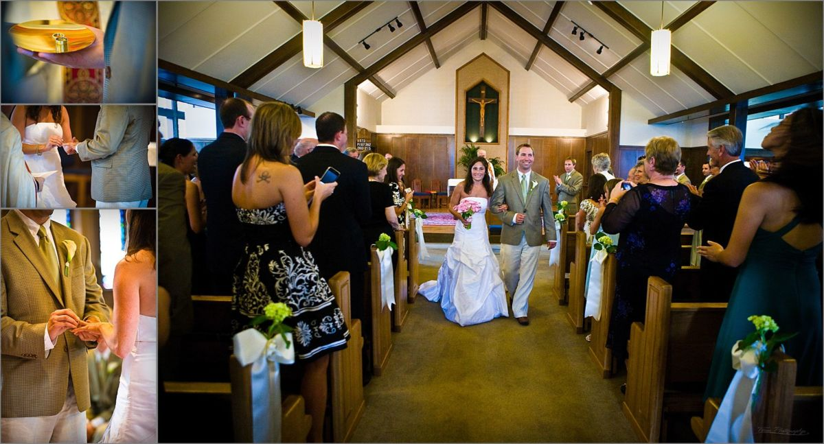 Wentworth by the Sea Wedding Photography Church ceremony