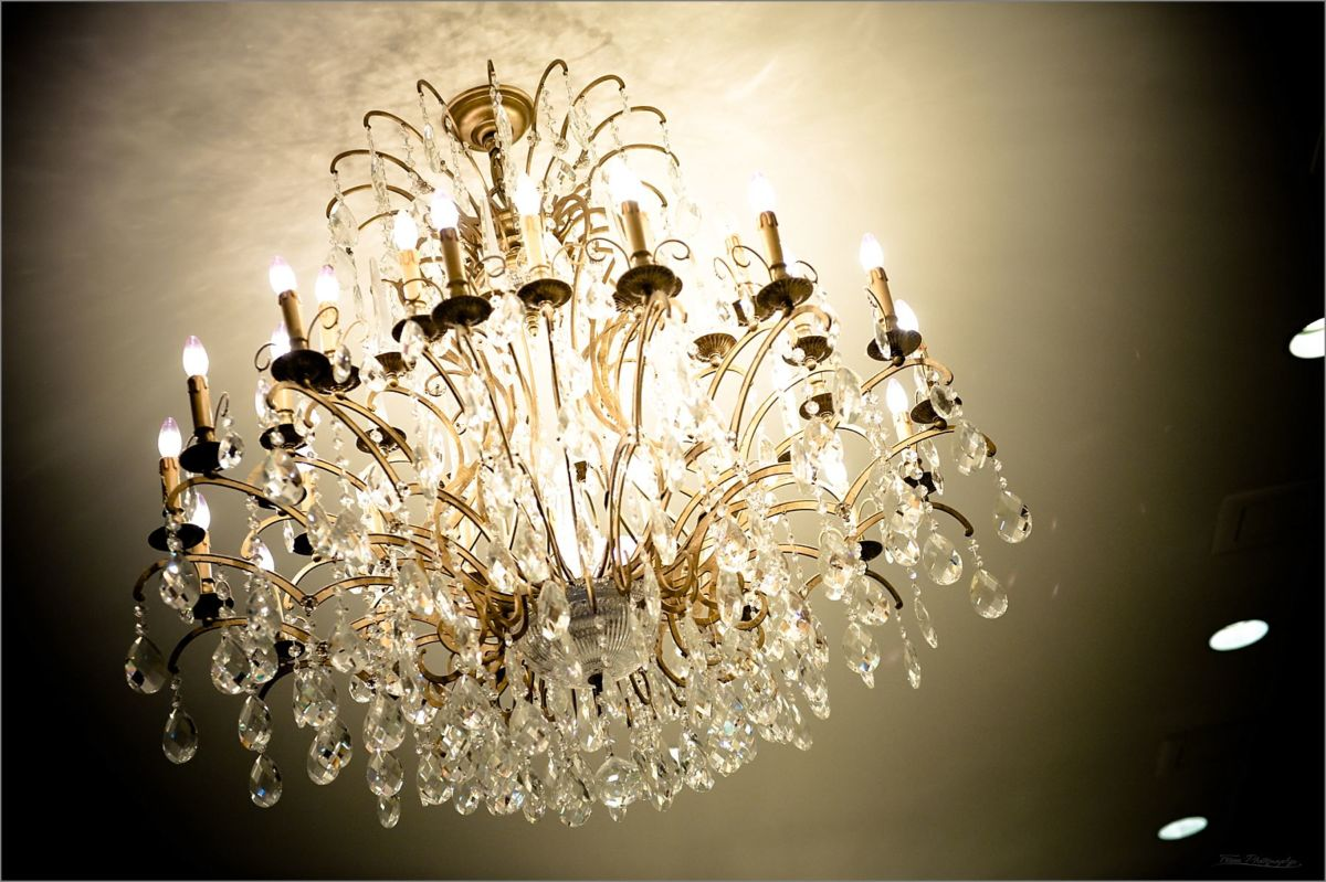 Wentworth by the Sea Wedding Photography Chandelier