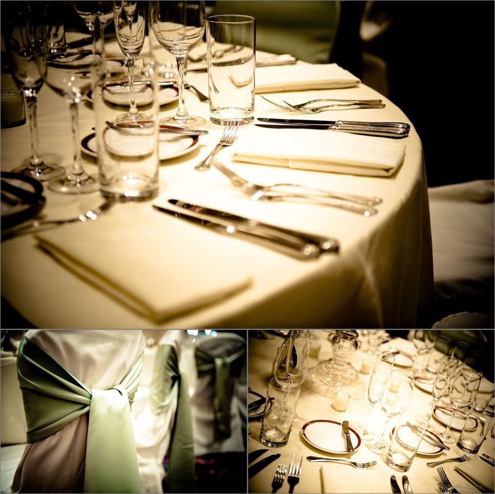 Wentworth by the Sea Wedding Photography table settings