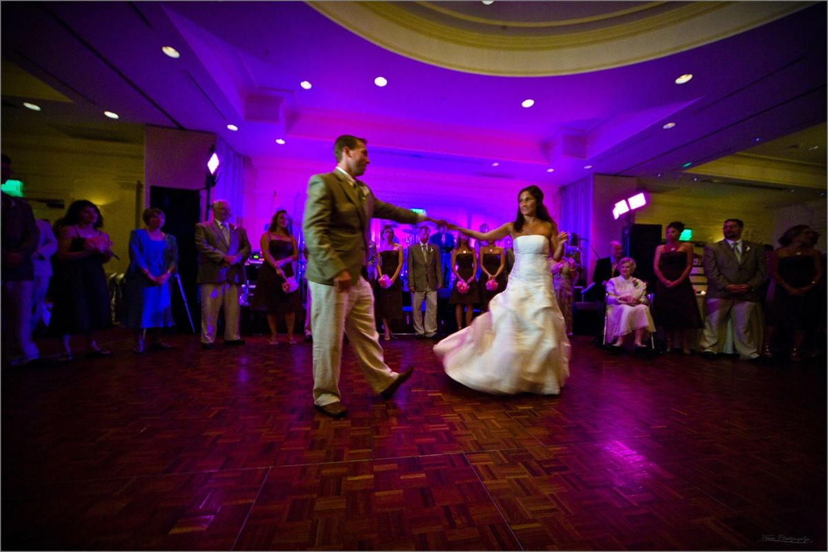 Wentworth by the Sea Wedding Photography bride and groom's first dance
