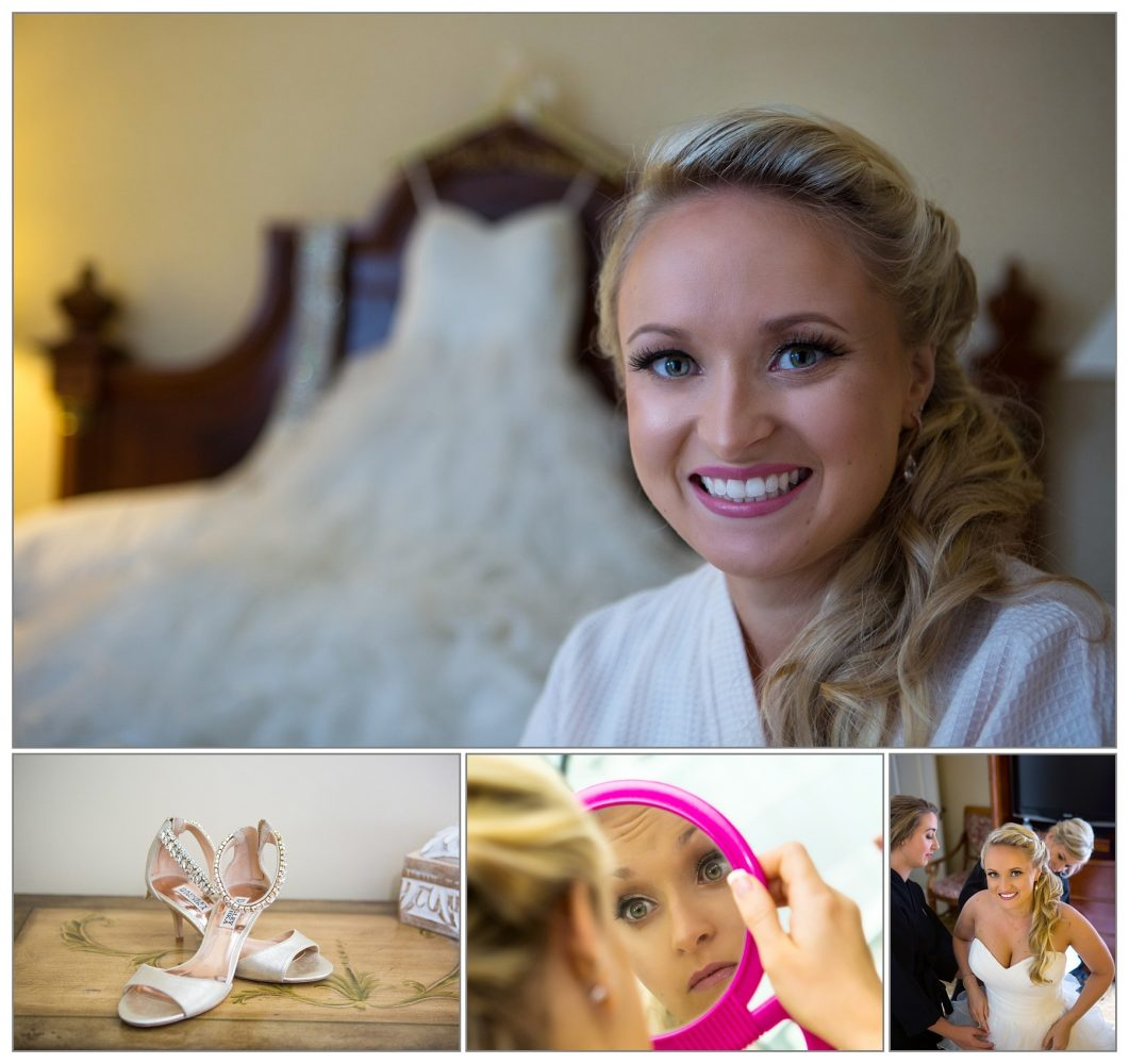 bride and dress, wedding details at Wenworth by the Sea wedding - Portsmouth, NH