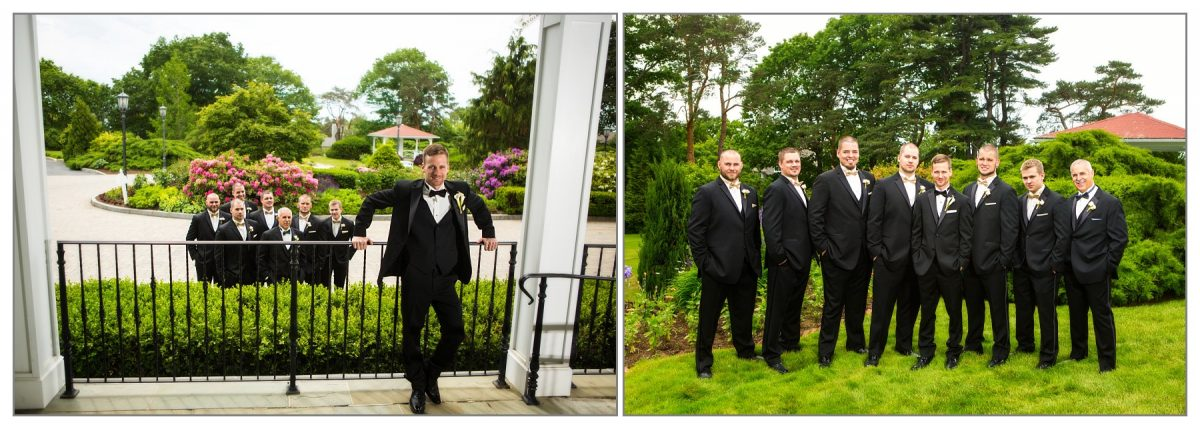 Groomsmen - wedding photography at Wentworth by the Sea