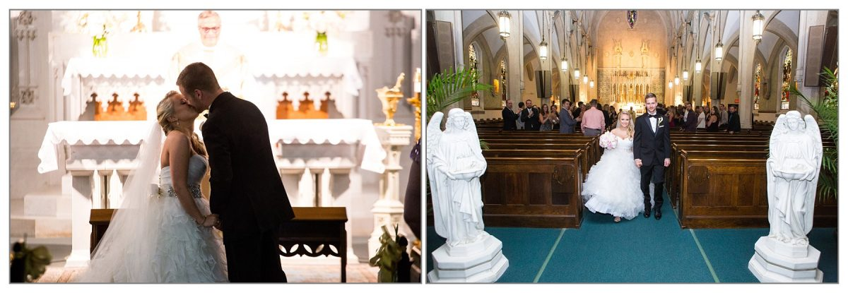 Portsmouth, New Hampshire church wedding ceremony