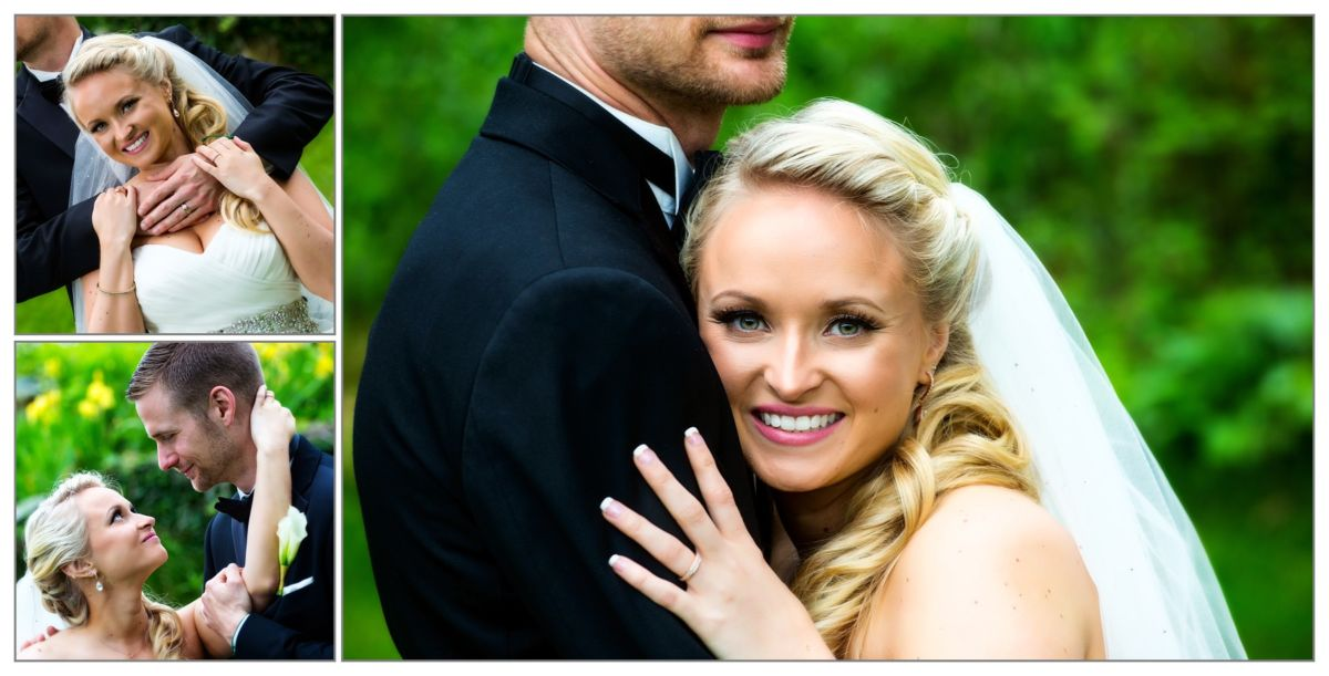 couple's photos at Wentworth by the Sea hotel wedding