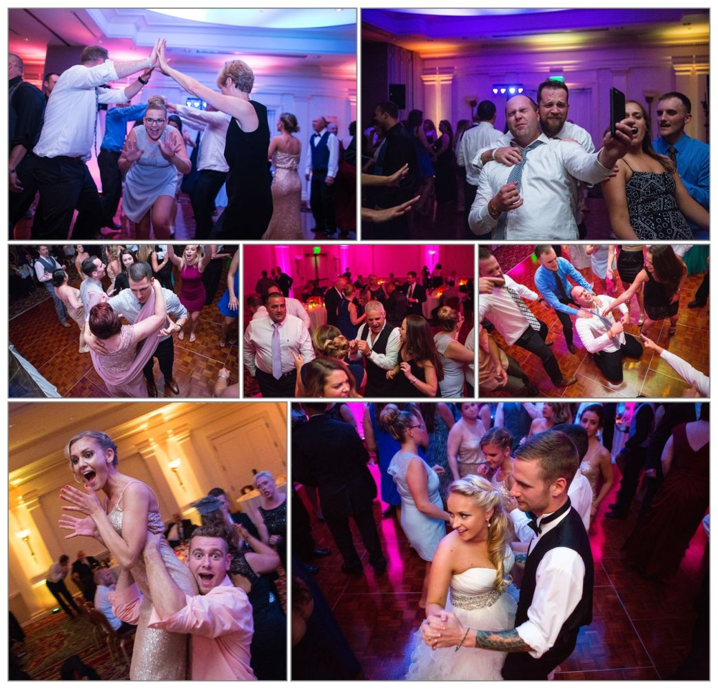 wedding celebration party pictures at wentworth by sea