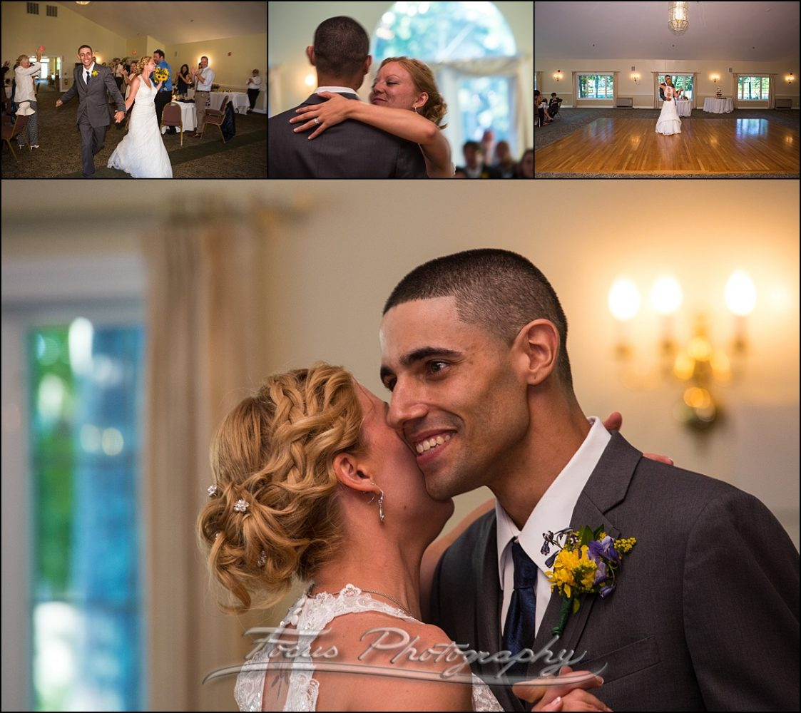 reception at Dunegrass wedding | Old Orchard Beach, Maine