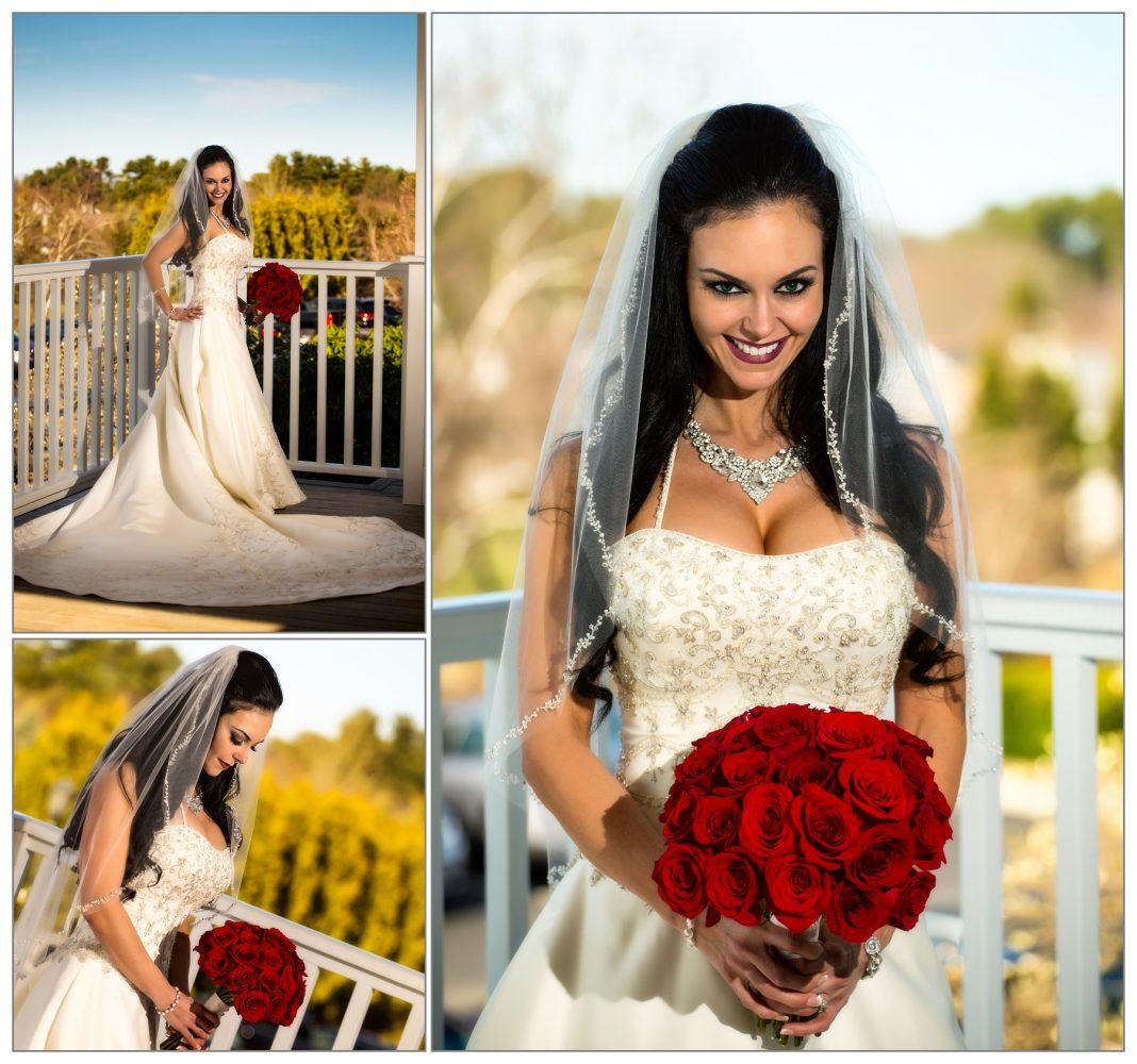 bridal portraits at Wentworth by the Sea  hotel wedding.