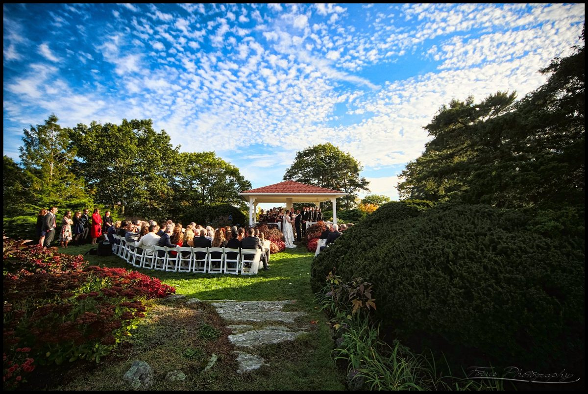 The wedding ceremony at the Wentworth by the Sea