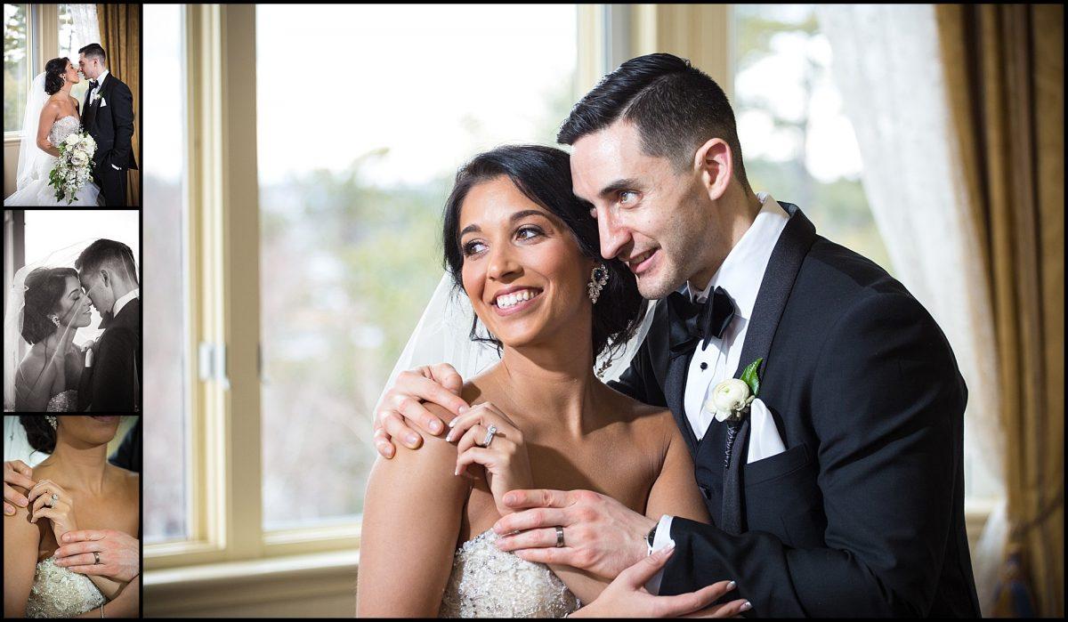 couple gazes out window