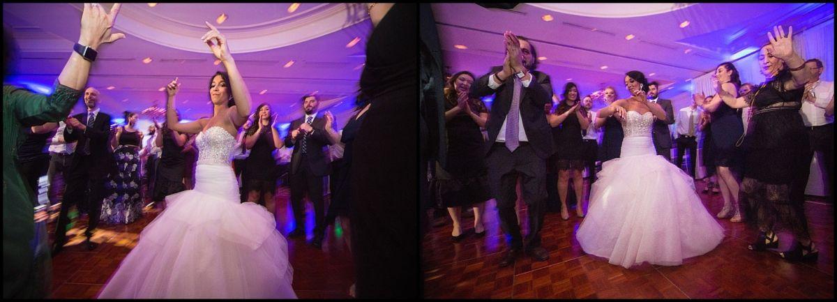 bride dances