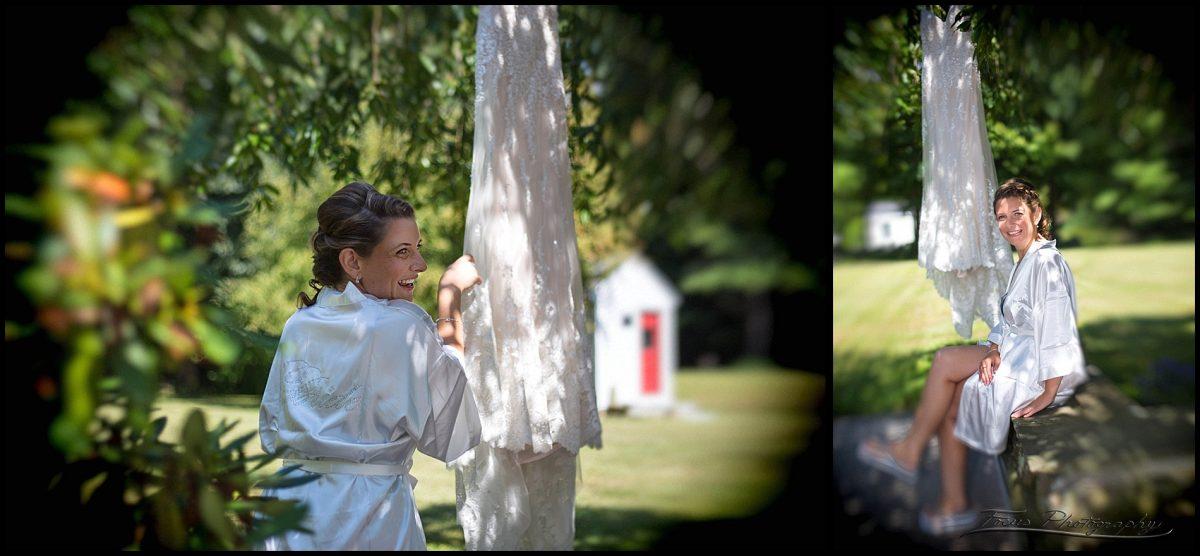 Katie and her dress - rye, New Hampshire