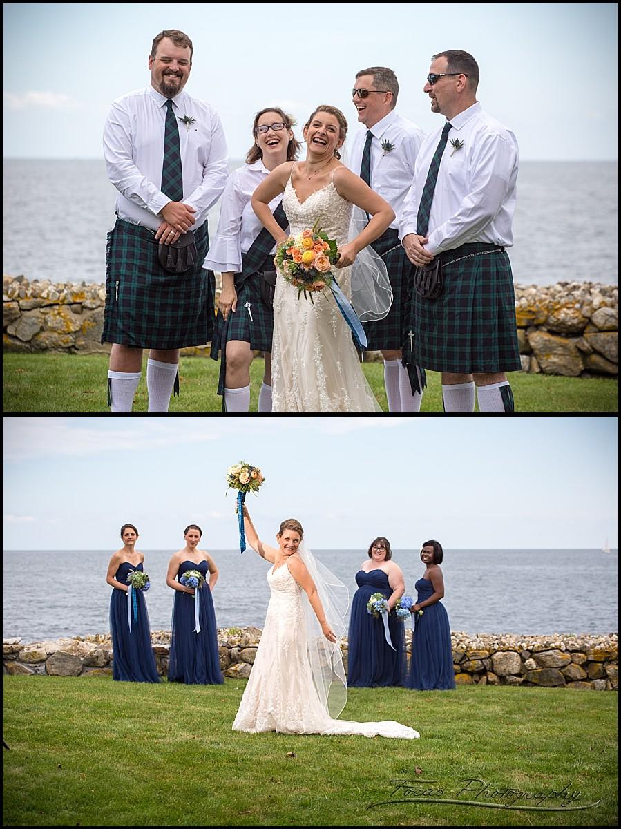 bride with both parties
