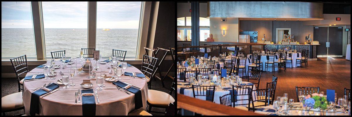 blue ocean events head table and floor
