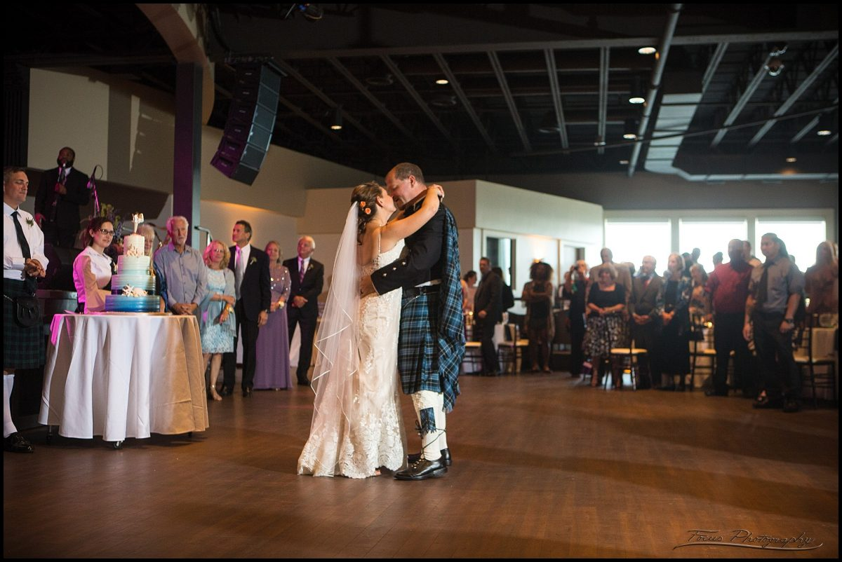 first dance at blue ocean events center in salisbury, ma