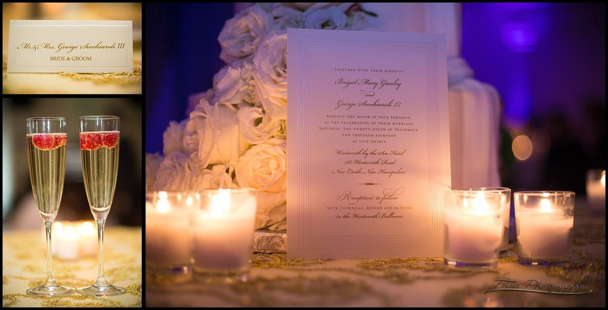 invitation by candlelight