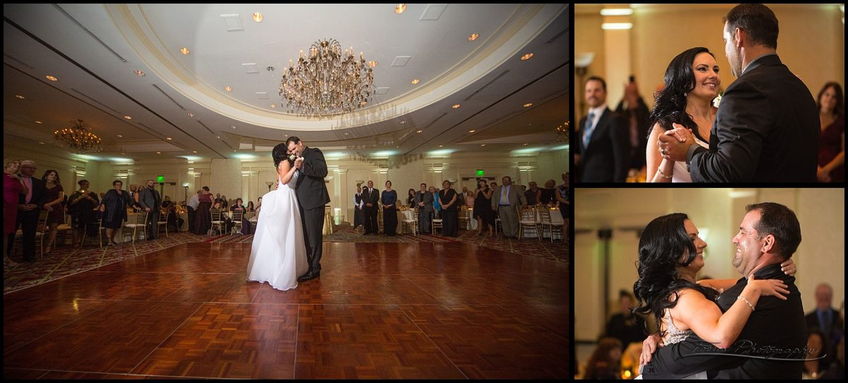 first dance in the Wentworth ballroom