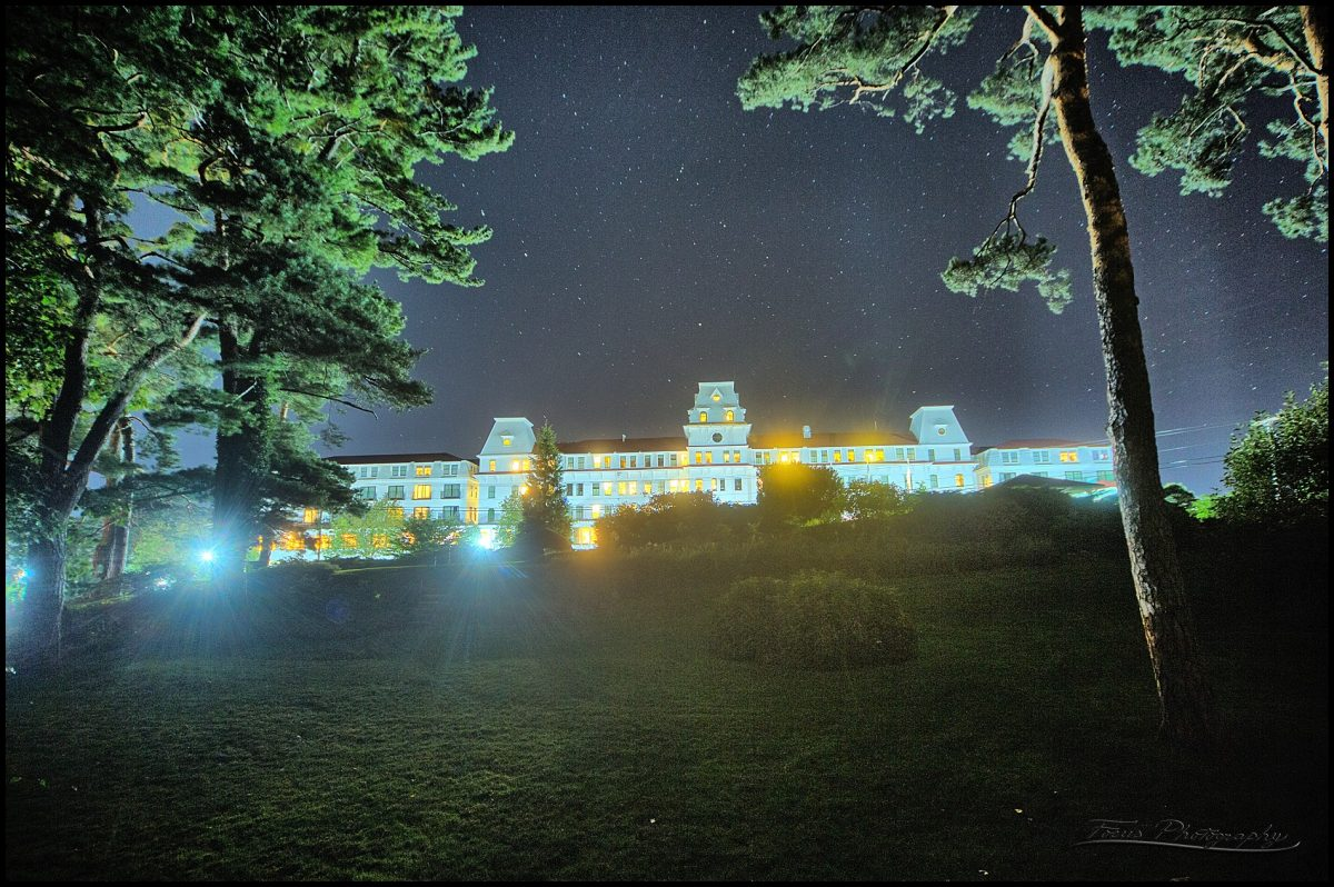 late night photo of wentworth