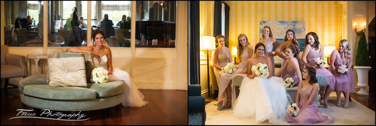 Wentworth by the Sea Wedding photography - front lobby