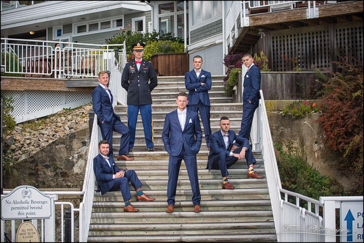 Sam & Steve's Wentworth Wedding - groomsmen
