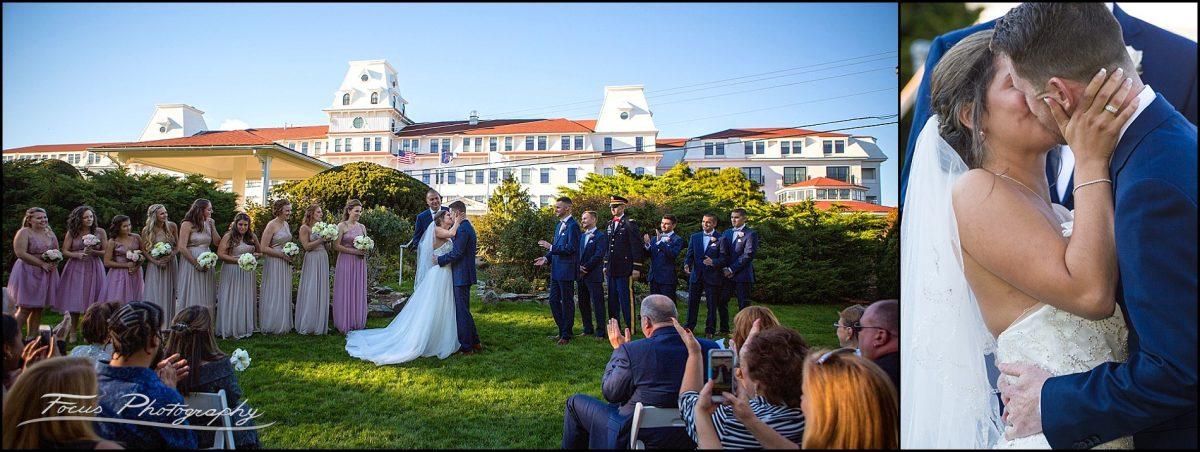 Sam & Steve's Wentworth Wedding - sealed with a kiss