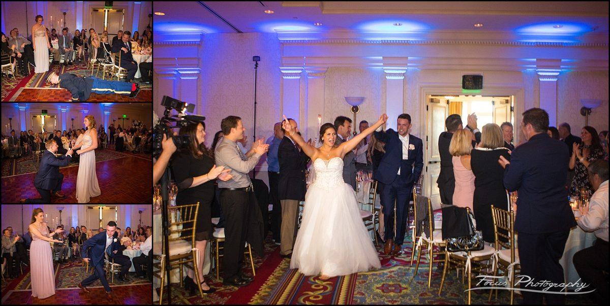 Sam & Steve's Wentworth Wedding - ballroom entrances