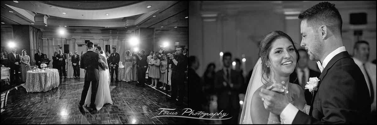 Sam & Steve's Wentworth Wedding - bride and groom dancing