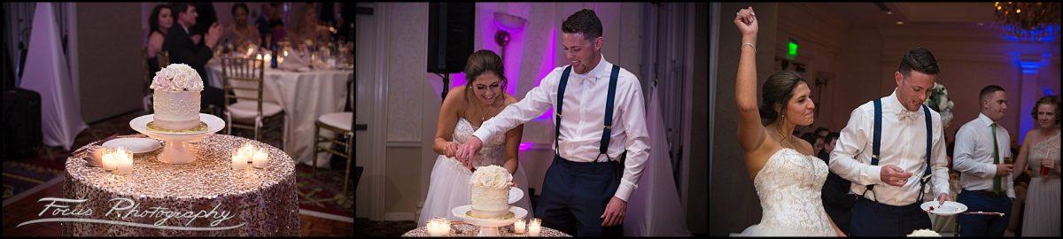 Wentworth Wedding Photographers - cake cutting