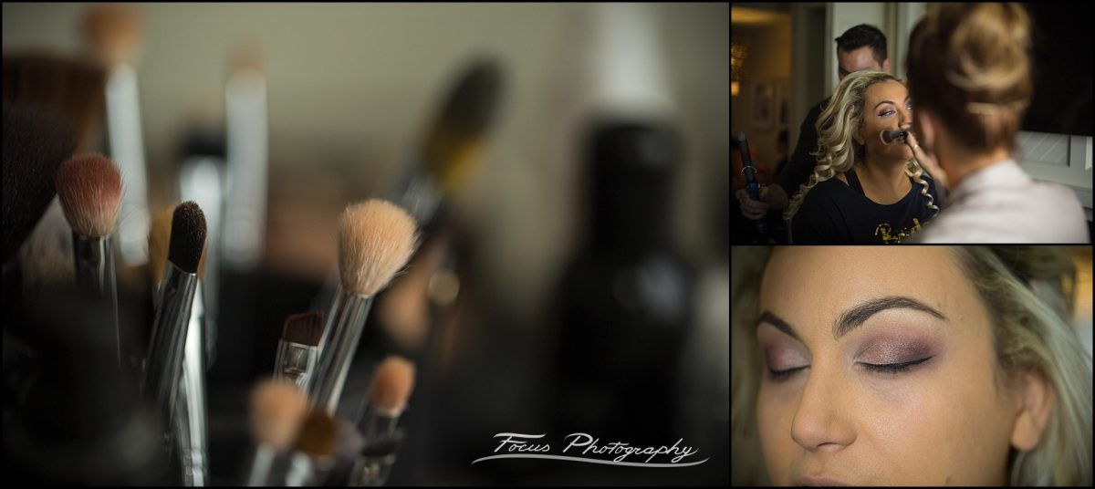 Wedding make up at Wentworth by the Sea Wedding in New Hampshire