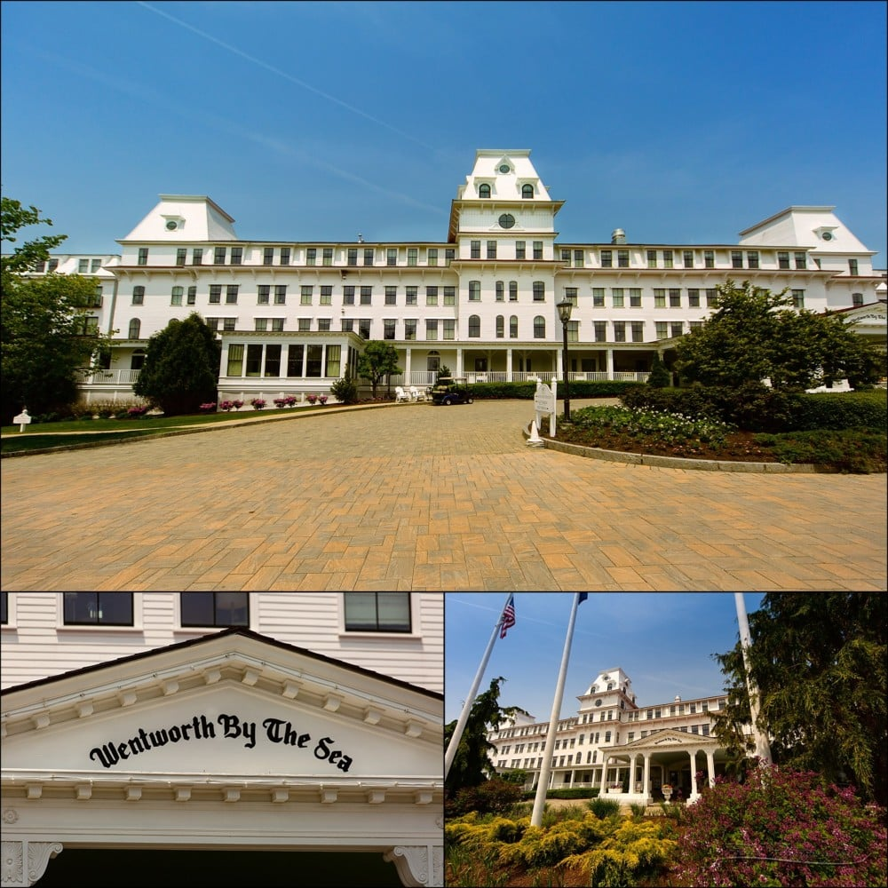 The Wentworth by the Sea Hotel in New Castle, New Hampshire
