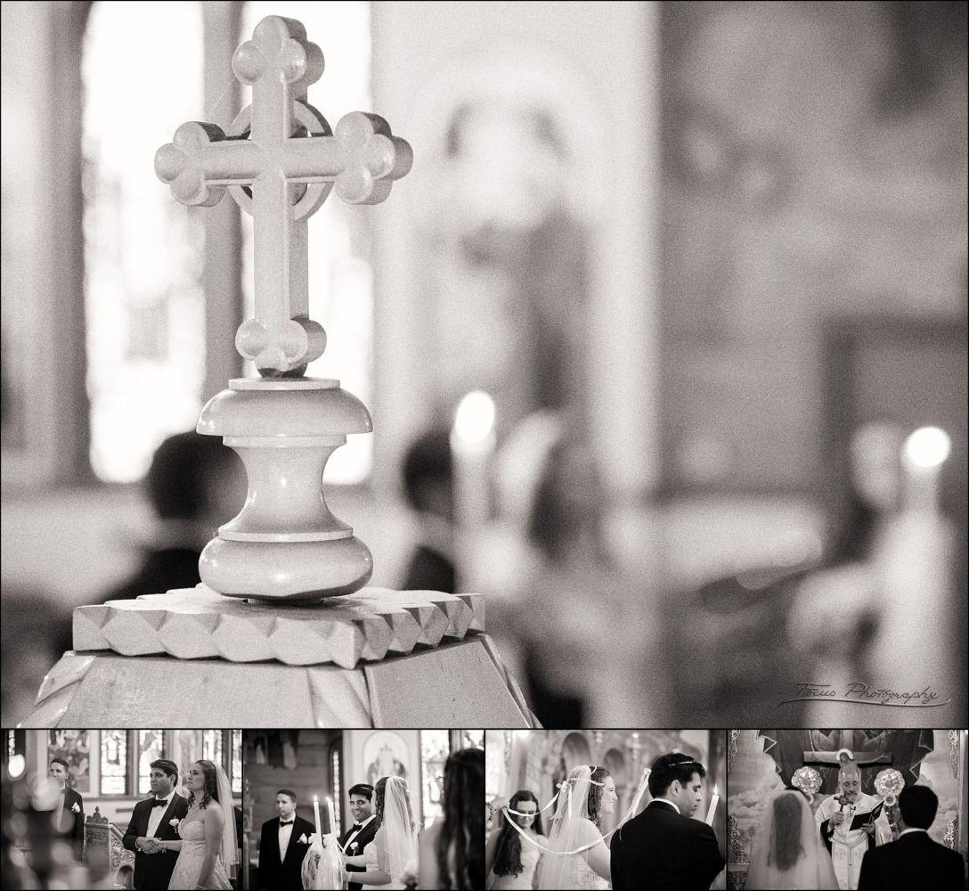 Cross at ceremony
