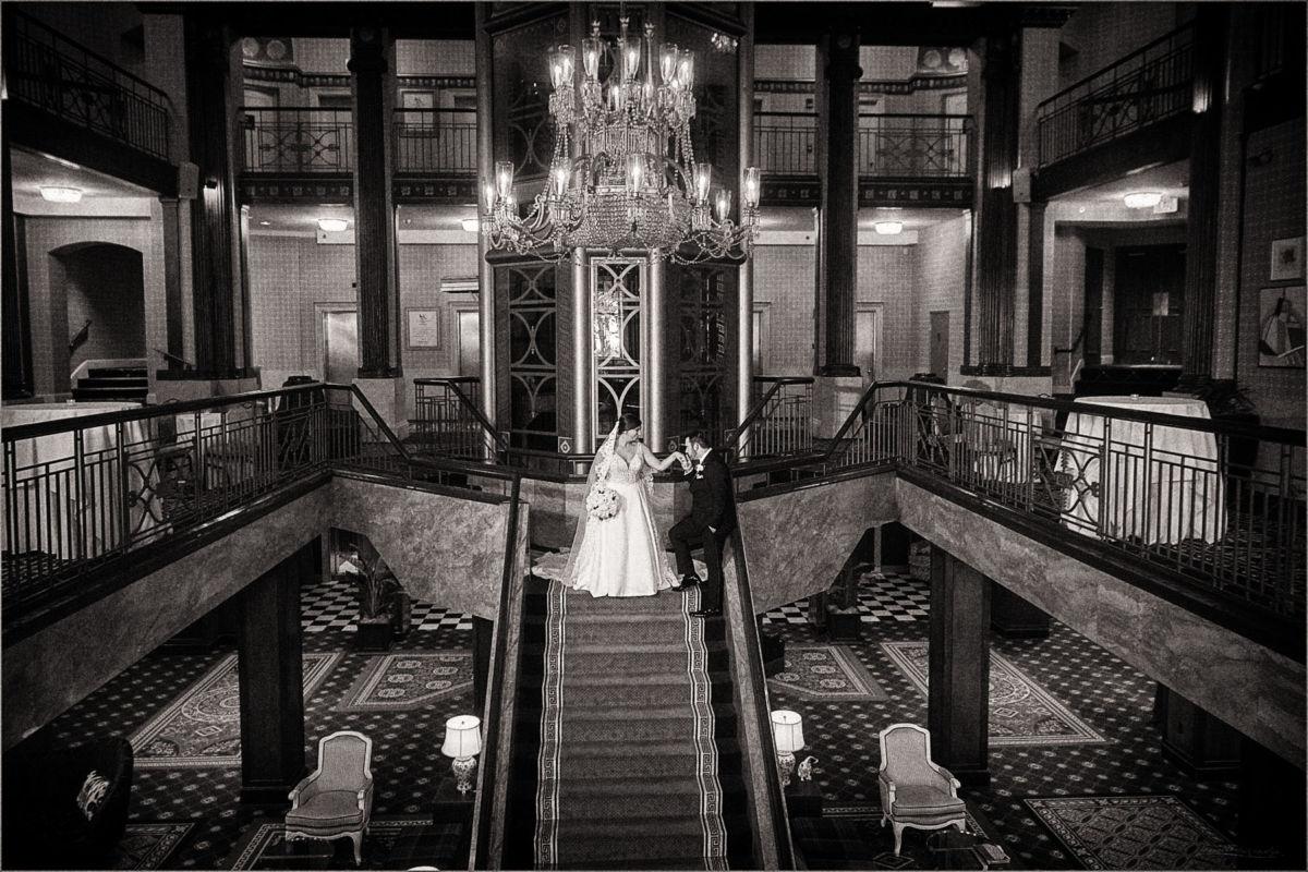 Providence Biltmore Graduate Hotel Wedding Photography CS113