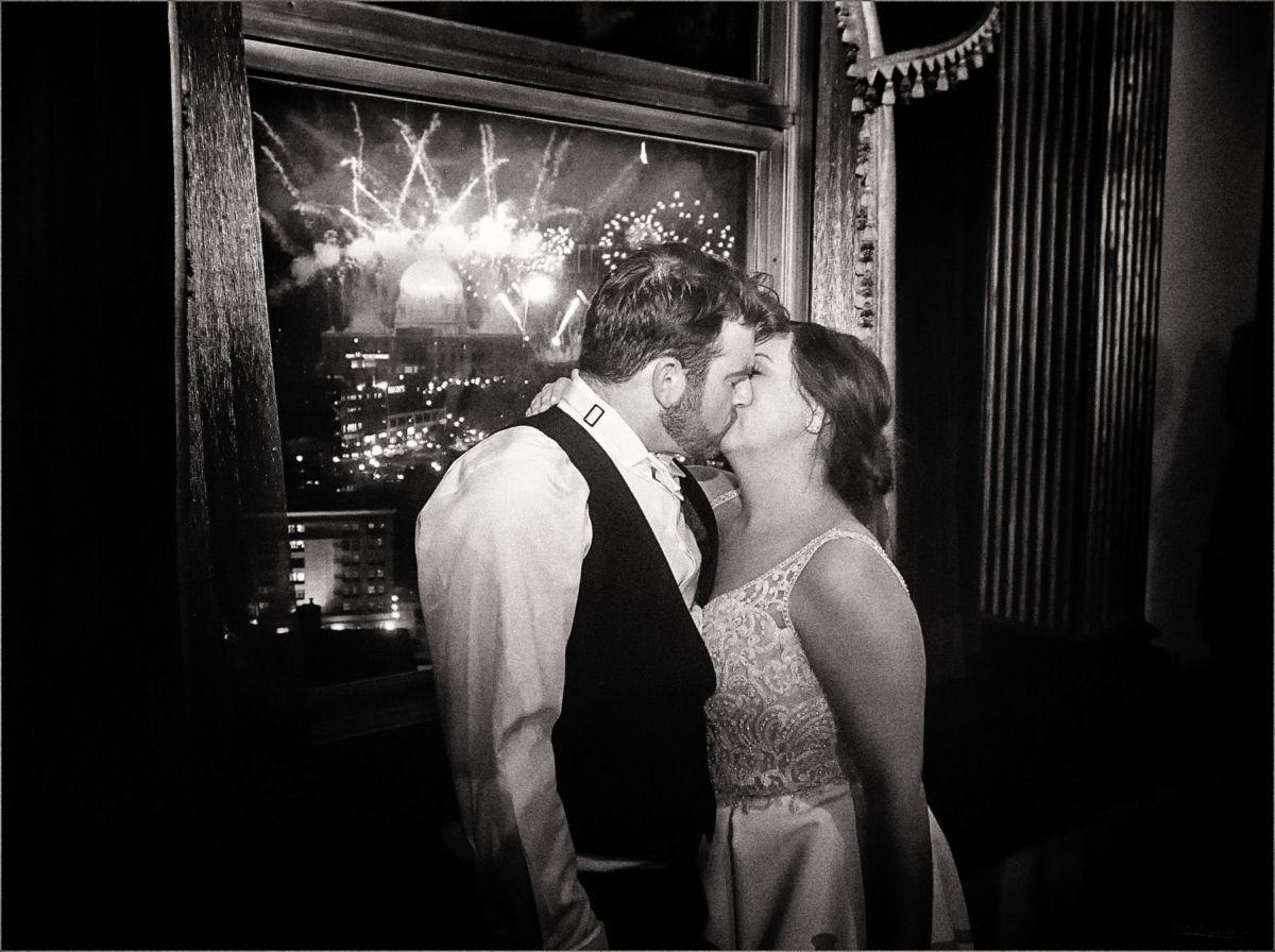 Providence Biltmore Graduate Hotel Wedding Photography CS136