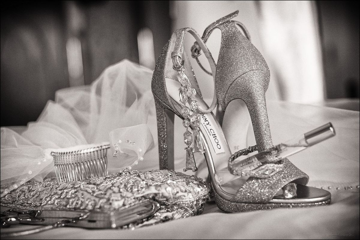 Wentworth by the Sea Wedding Jimmy Choo wedding shoes and accessories