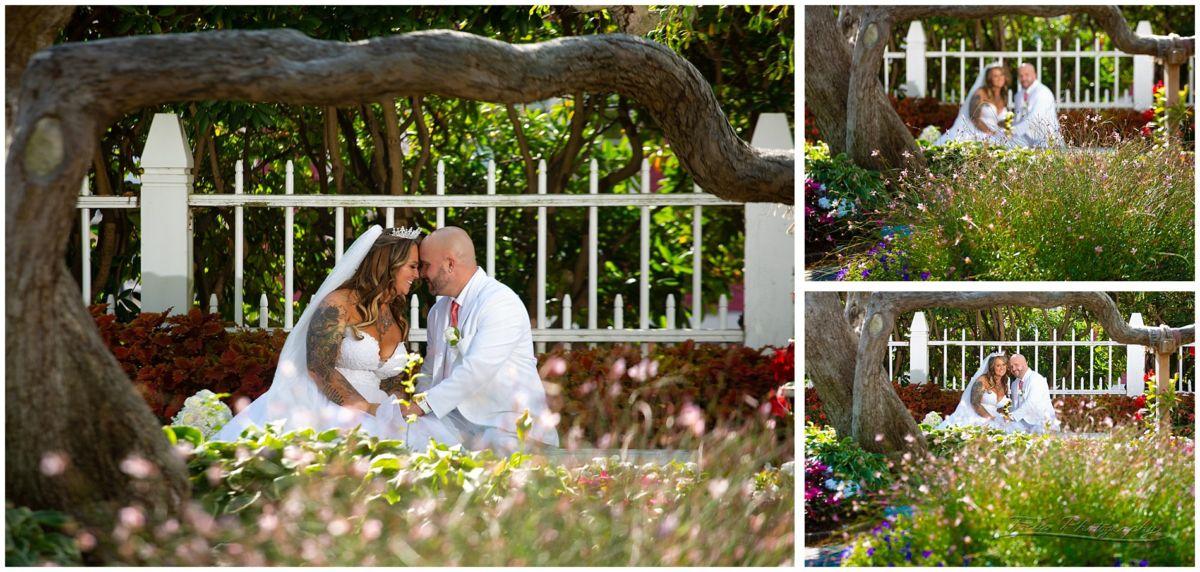 Liz and Bert at Prescott Park in Portsmouth, NH wedding