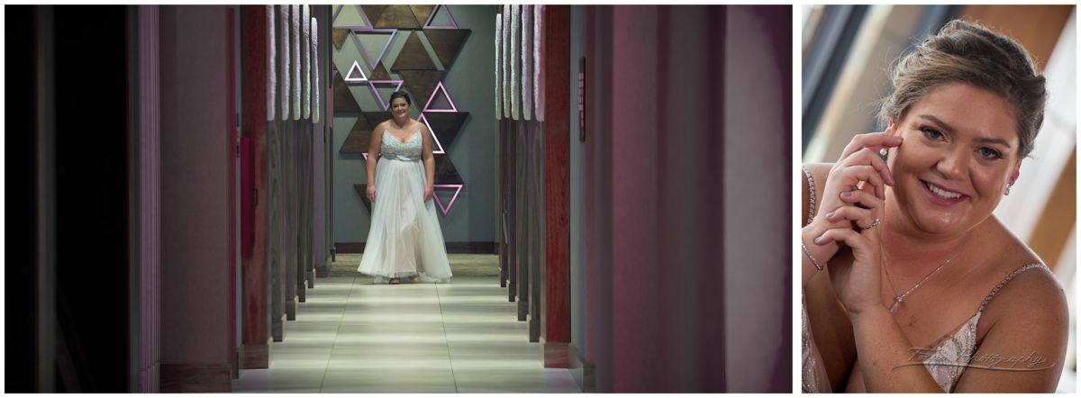 Bride in the AC hotel