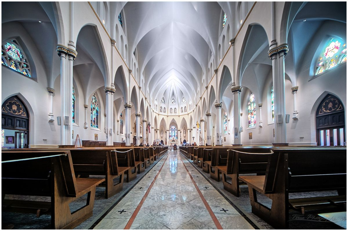 Cathedral of Immaculate Conception, in Portland, ME
