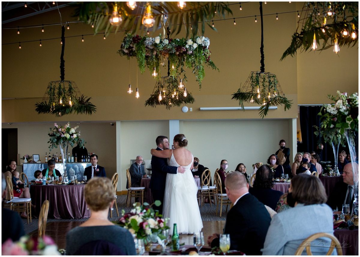 first dance in portland, maine at the Ocean Gateway