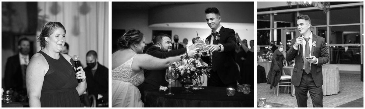 116 toasts Ocean Gateway Wedding