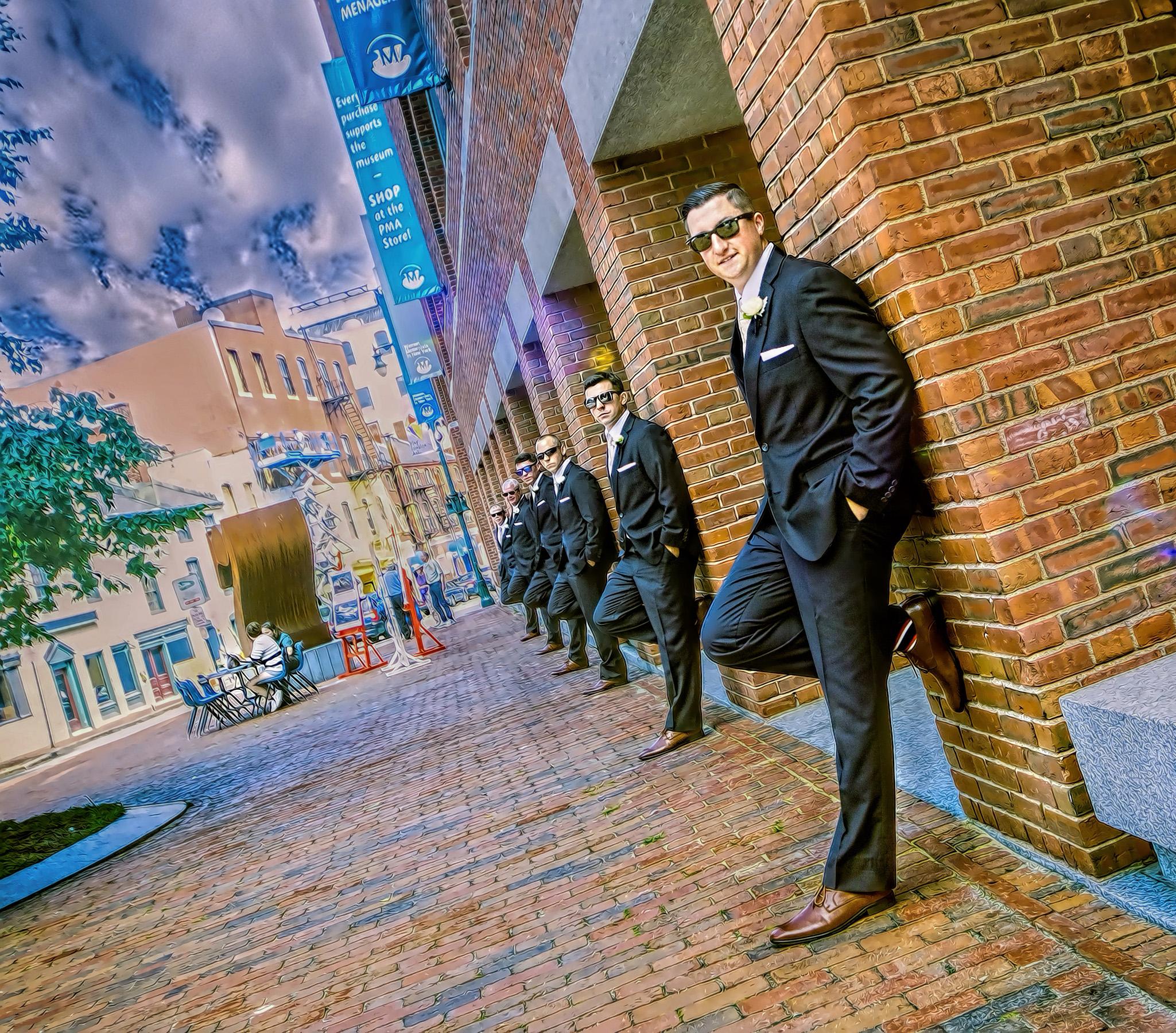 wedding pictures of groomsmen